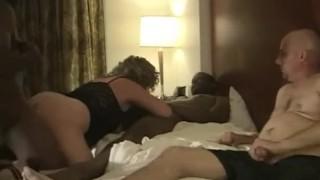 Husband Enjoys Watching Amateur Cuckold Wife Swing