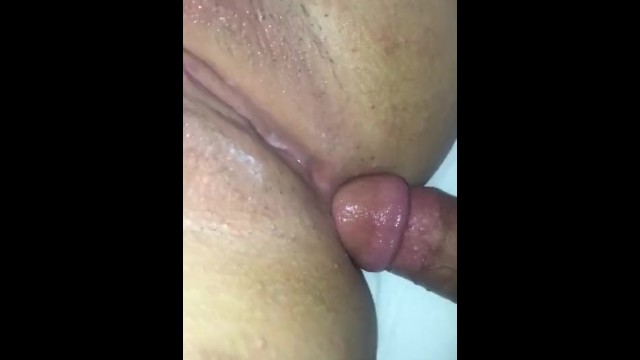 Teasing Big tittiesG 's pussy with my cock 27