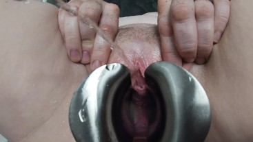 Speculum pee and play