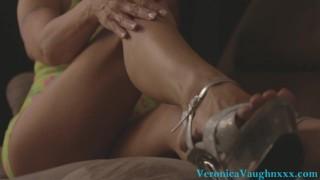 Cinematic Sexy MILF Leg Tease