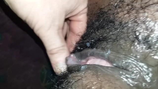 Creampie for my ebony slut wifey 11