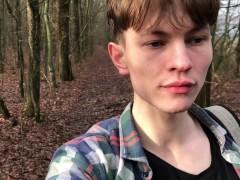 Camping with Daddy Outdoor /Daddy Filmed Me & CUM AS VULCANO / Cute boy