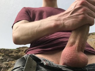 This sexy boy has hard dick like a...