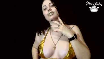 Golden Hot Lips and Tits Worship