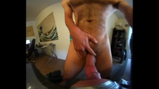 Dominant, Hung, and Hairy Daddy Fucks Your Throat
