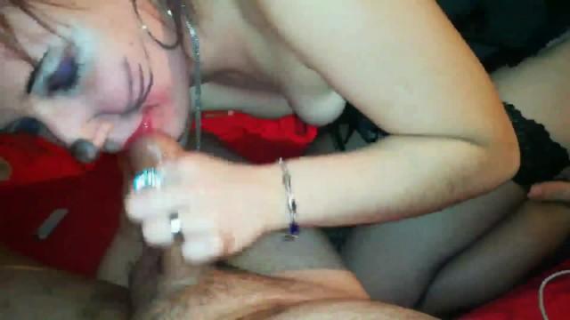 Shy Amateur  girl pov blowjob in nylon stockings 4k UltraHD part2 3