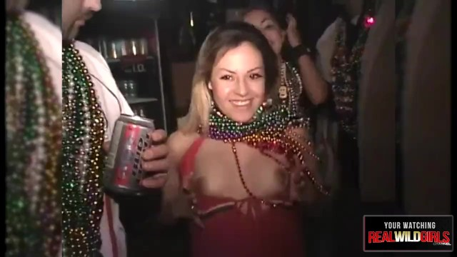 Mardi gras girl gets fucked - Mardi gras slut gets pussy eaten uncensored