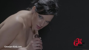 Horny Handjob and Oil Massage with BLACK Big Dick