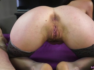 Ball draining beauty handles my cock like a pro (It's Cleo)