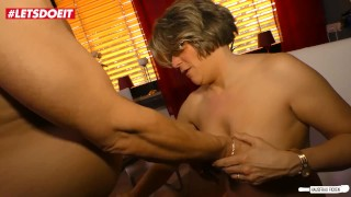 AMATEUR EURO - German Granny Wife Cheating Sex In The Kitchen