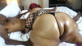 Big butt BBW mom taking neighbors big black cock while her husband is away