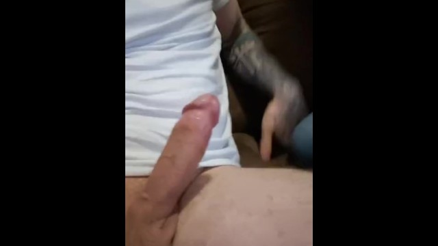 Snow Bunny gagging on a thick cock 5