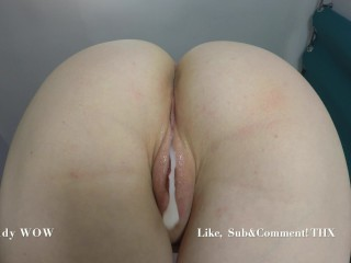 Trying to get me pregnant again amateurs creampie...
