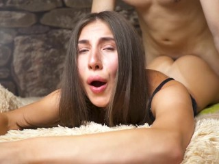 GF GAVE IN THE ASS TWICE - DOUBLE ANAL CREAMPIE - DICKFORLILY