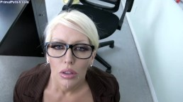 Huge Tit Teacher Takes Entire Load In Her Mouth - Alura Jenson