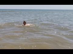 Amateur pee on the beach ! Nude girl enjoying freedom. WetKelly Amateur pee on the beach ! Nude girl enjoying freedom. WetKelly
