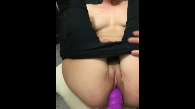 Dildo my pussy while bf drives 10