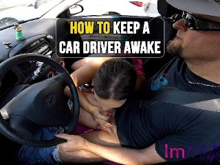 HOW TO KEEP A CAR DRIVER AWAKE