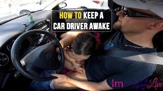 HOW TO KEEP A CAR DRIVER AWAKE