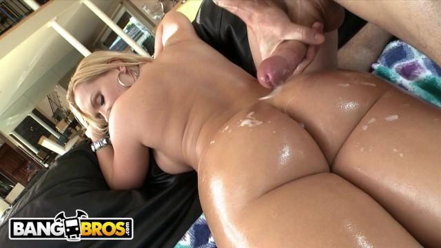 BANGBROS - Blonde PAWG Katja Kassin Takes Cock Up Her Ass
