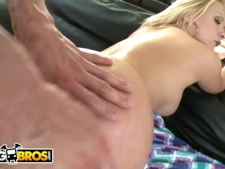 BANGBROS – Blonde PAWG Katja Kassin Takes Cock Up Her Ass