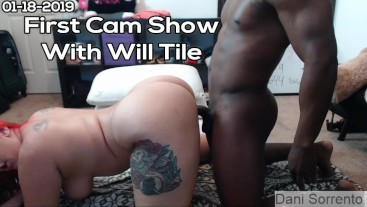 First Cam Show with Will Tile- A Dani Sorrento clip