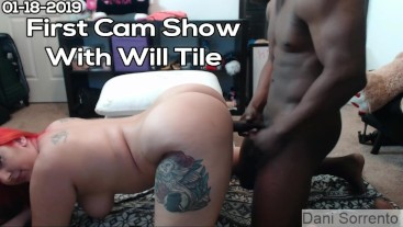 First Cam Show with Will Tile- Dani Sorrento trailer