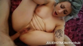 holidays with stepmom 3 - deep anal and facial cumshot for mom