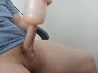Fleshlight fun without cumming