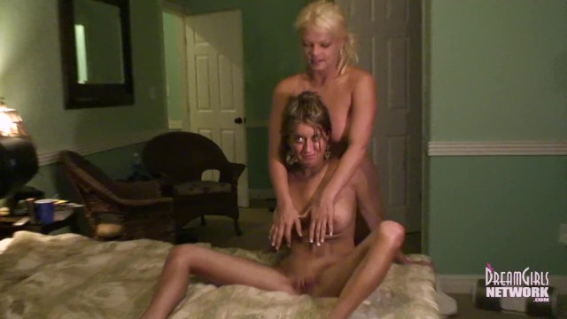 Wild Three Way Fuck Fest With Strippers 9