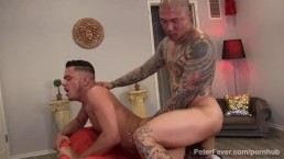 Asian Daddy Damian Fucks Latin Stud Cesar Xes