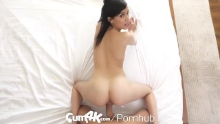 CUM4K Sunny Sunshine Fucked With Multiple Dripping Creampies