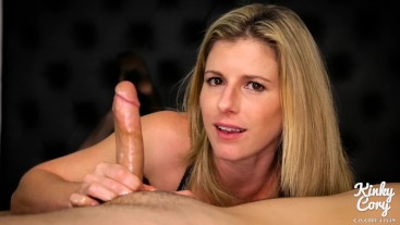 Cory Chase in Mom Begs me to Cum While she Jerks Me Off