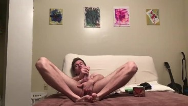 Playing With My Asshole and Cock