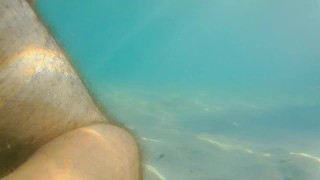 DEEP ANAL into the Sea with Cloud of underwater CUM