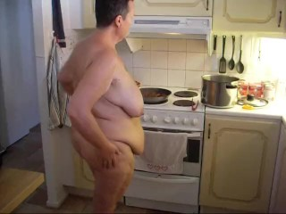 Cooking food...