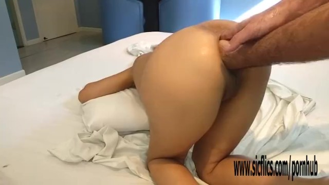 Double Fisting Latinas Greedy Butt Hole