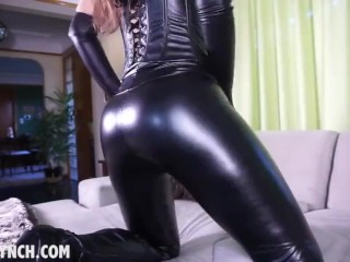 JOI (Humiliation,Body Suit,young,Mistress,Femdom,Domina,Latex,Leather)