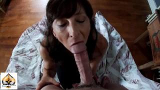 Sexy Granny POV Blowjob Magnificent