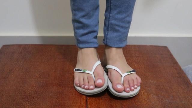 Feet;Exclusive;Verified Amateurs kink, foot-domination, shoejob, footjob, cock-trampling, trampling, cock-crush, cockbox, foot-slave, flip-flops, cock-stomp
