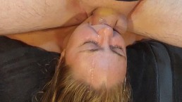Extreme Sloppy Deepthroat Facefuck with Gagging