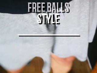 Balls free style...