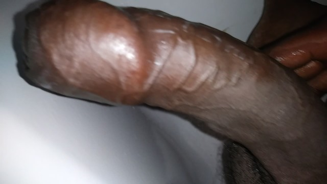 Monster cock cum shot Bbc moaning loud w/ deep voice about uncut dick cum shot.
