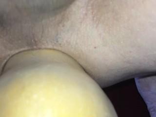 Insertion close up and cum...