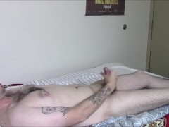 Welcome to my New Channel BigBearHugs! (Sexy Bear passionate jerk off)