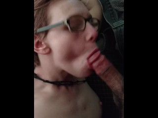 My kitten gives the best blowjob's