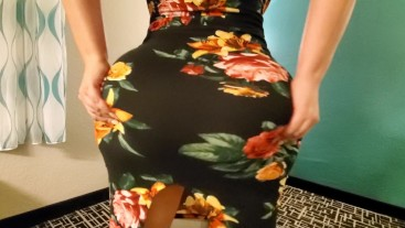 Big booty pawg crystal lust gets pounded in a hotel wearing a sexy dress