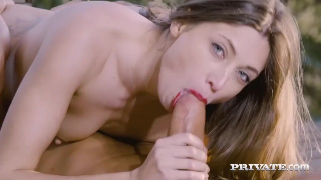 Private.com - Hot Teen Talia Mint Pussy Practices Yoga!