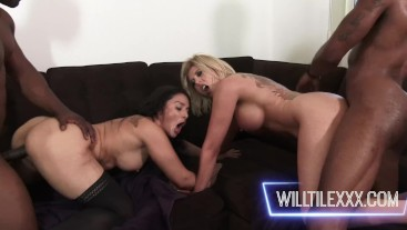 Swap it Up starring Sheena Ryder and Amber Chase