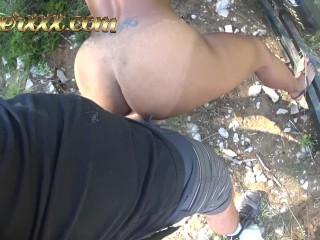 SNEAKY PUBLIC SEX IN CROATIA - KIKI MINAJ
